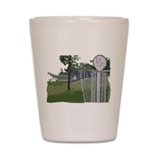 Disc Golf Shot Glass