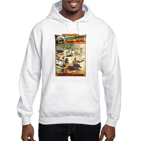Sells Bros. Three-Ring Circus Hooded Sweatshirt