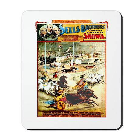 Sells Bros. Three-Ring Circus Mousepad