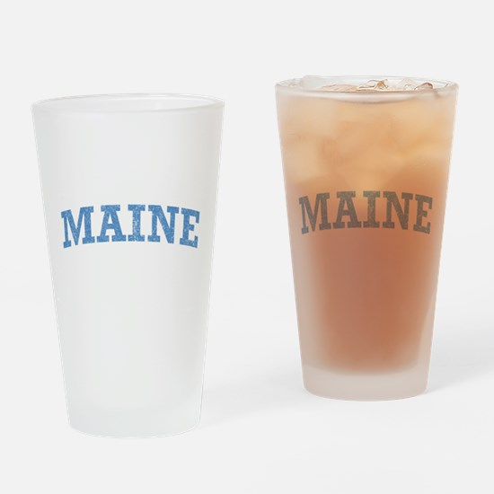 Vintage Maine Pint Glass