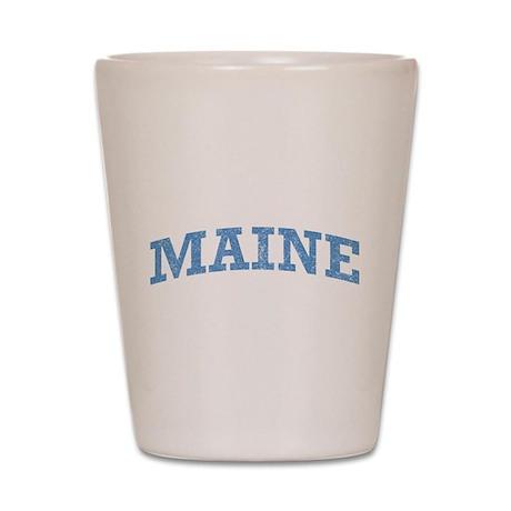 Vintage Maine Shot Glass