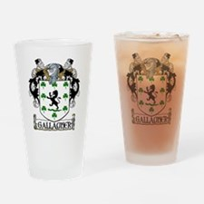 Gallagher Coat of Arms Pint Glass