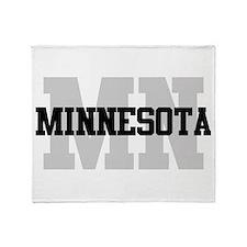 MN Minnesota Throw Blanket
