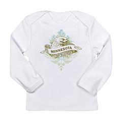 Eagle Minnesota Long Sleeve Infant T-Shirt