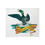 Minnesota Loon Throw Blanket