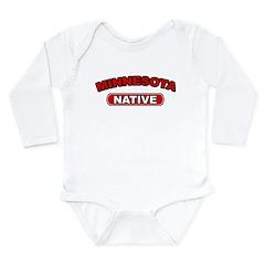 Minnesota Native Long Sleeve Infant Bodysuit