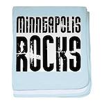 Minneapolis Rocks baby blanket
