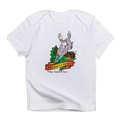 Mississippi White Tailed Deer Infant T-Shirt
