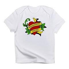 Mississippi Rocks! Infant T-Shirt