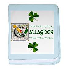 Gallagher Celtic Dragon baby blanket