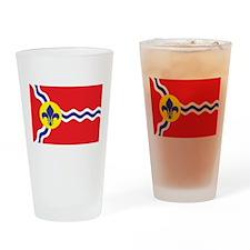 St. Louis Flag Pint Glass