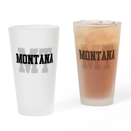 MT Montana Pint Glass