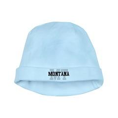 MT Montana baby hat