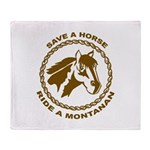 Montanan Throw Blanket