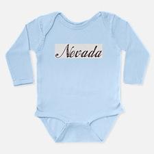 Vintage Nevada Long Sleeve Infant Bodysuit