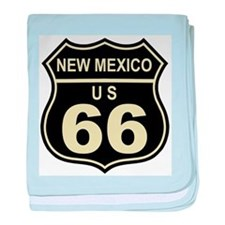 New Mexico Route 66 baby blanket