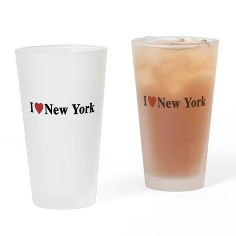 I Love New York Pint Glass