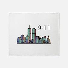 World Trade Center 9-11 Throw Blanket