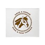 New Yorker Throw Blanket