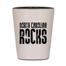 North Carolina Rocks Shot Glass