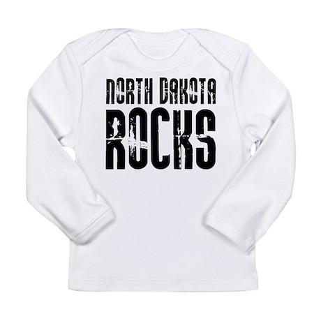 North Dakota Rocks Long Sleeve Infant T-Shirt