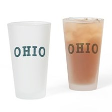 Curve Ohio Pint Glass