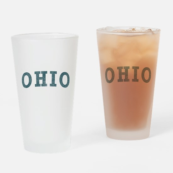 Curve Ohio Pint Glass