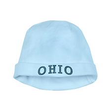 Curve Ohio baby hat