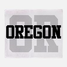 OR Oregon Throw Blanket