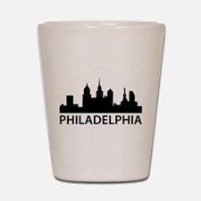 Philadelphia Skyline Shot Glass