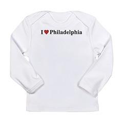 I Love Philadelphia Long Sleeve Infant T-Shirt