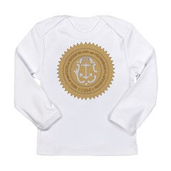 Rhode Island Seal Long Sleeve Infant T-Shirt