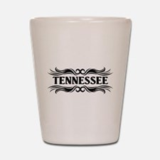 Tribal Tennessee Shot Glass