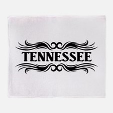 Tribal Tennessee Throw Blanket