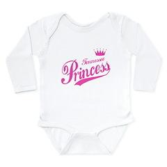 Tennessee Princess Long Sleeve Infant Bodysuit
