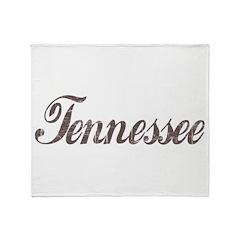 Vintage Tennessee Throw Blanket