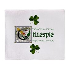 Gillespie Celtic Dragon Throw Blanket