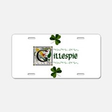 Gillespie Celtic Dragon Aluminum License Plate