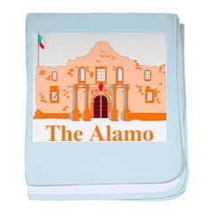 Alamo baby blanket