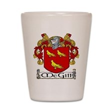 McGill Coat of Arms Shot Glass
