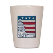Vintage Washington Shot Glass