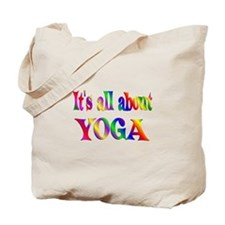 About Yoga Tote Bag