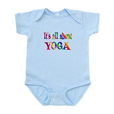 About Yoga Infant Bodysuit