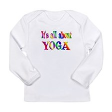 About Yoga Long Sleeve Infant T-Shirt