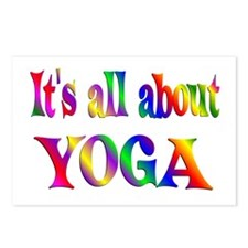 About Yoga Postcards (Package of 8)