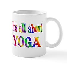 About Yoga Small Mugs