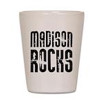 Madison Rocks Shot Glass