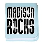 Madison Rocks baby blanket