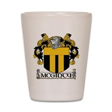 McGinty Coat of Arms Shot Glass