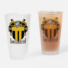 McGinty Coat of Arms Pint Glass